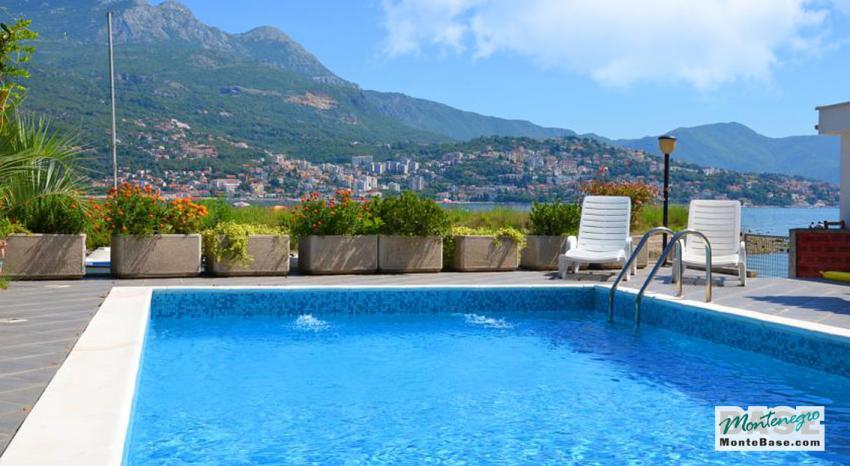 Апартаменты в черногории с бассейном вилла в горах